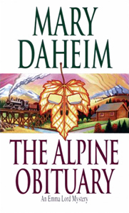The Alpine Obituary paperback cover
