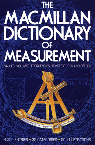 The Macmillan Dictionary of Measurement cover