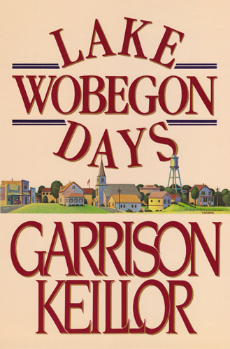 Lake Wobegon Days hardback first edition cover